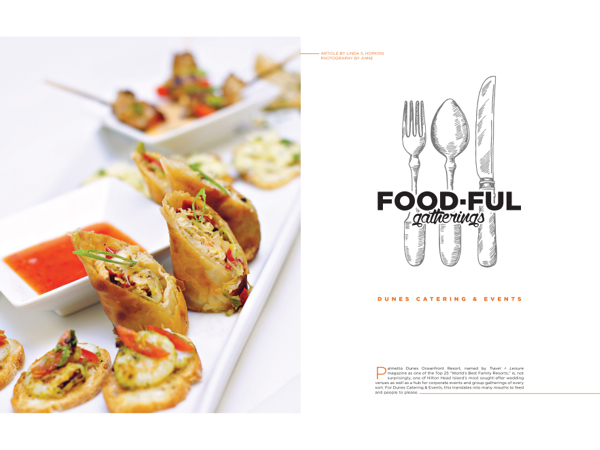 Hilton Head Christmas 2021 Caterers Hilton Head Magazines Ch2 Cb2 Food Full Gatherings Dunes Catering Events